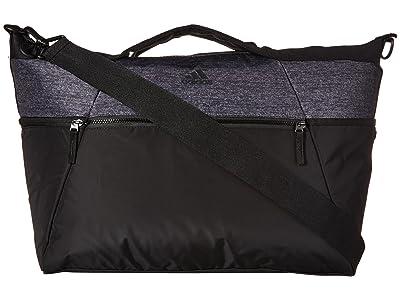adidas Studio III Duffel (Black/Black Jersey) Bags