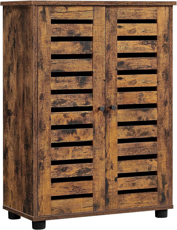 VASAGLE Storage Cabinet Max 80% OFF Floor Adjustable Doors 2 with Gorgeous