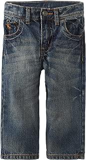 Wrangler Boys' Straight Leg Jeans - Blue