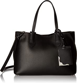 Calvin Klein Jacky Micro Pebble Leather Slouchy East/West Tote