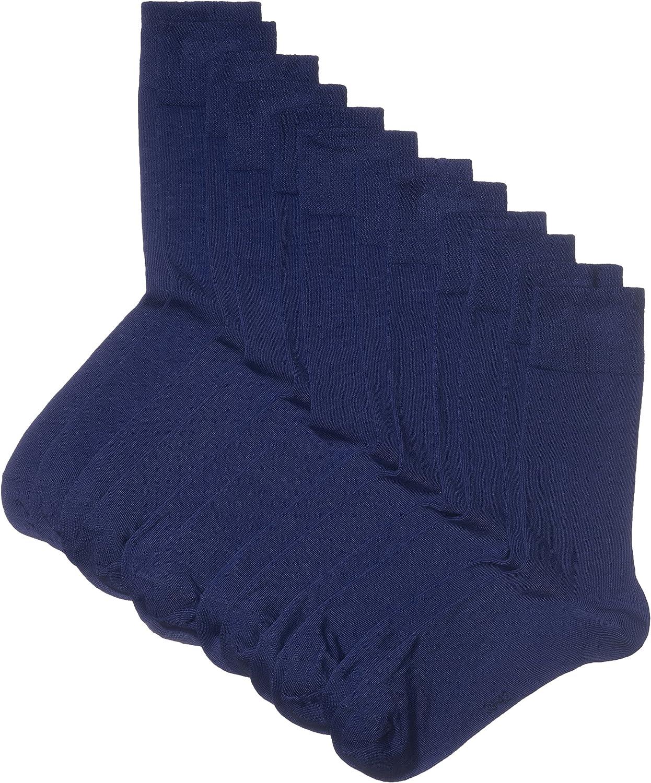 Marca Amazon - Hikaro - Calcetines para hombre, pack de 6 pares (antes marca Myway)