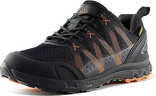 Wantdo Men's Low Top Waterproof Hiking Shoe Lightweight Anti-Slip Boots Backpacking Walking Mountain Trekking Trails