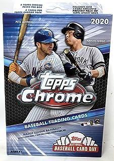 Topps 2020 Chrome Baseball MLB Hanger Pack Box