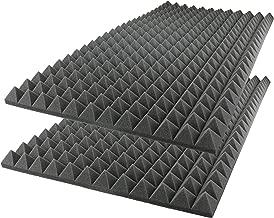 acoustic foam sound absorption pyramid