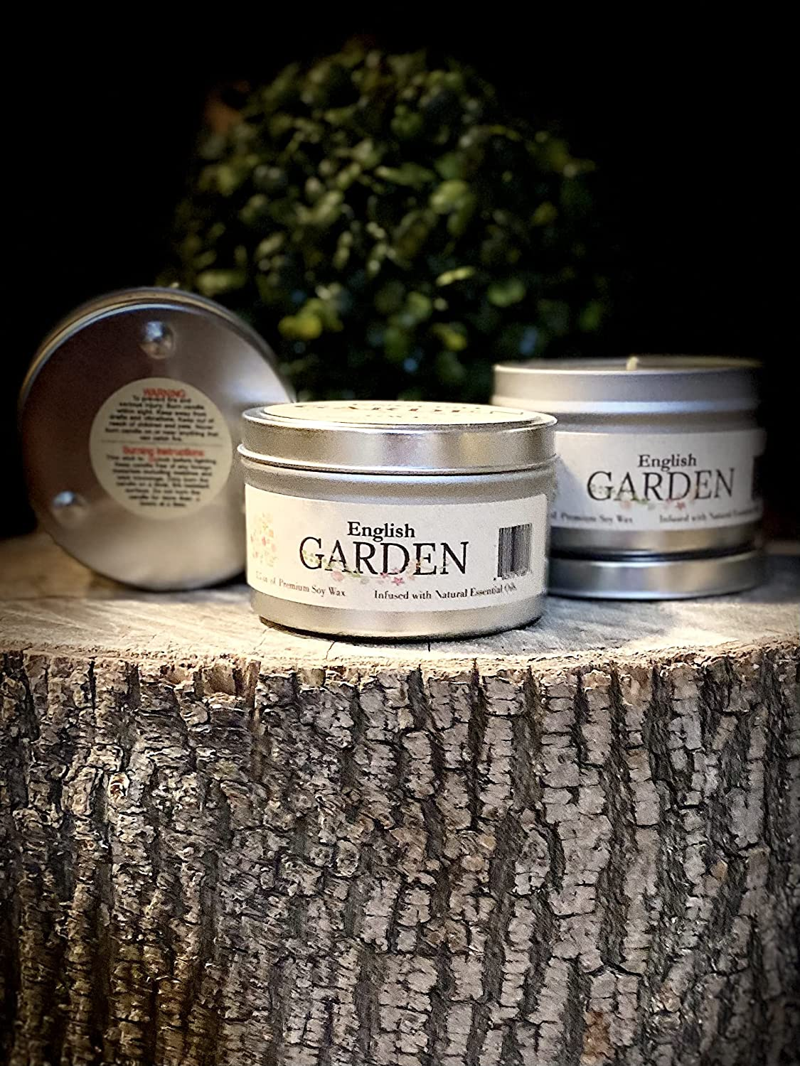 English Garden - Floral Aromatherapy Soy for Tucson Excellent Mall Candle Stress Relie