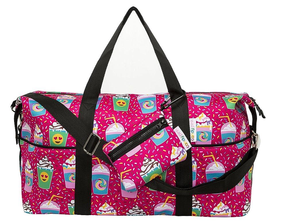 Candy Pink Duffle Bag, Neoprene, 20