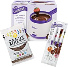 Wilton Candy Melts Candy Melting Pot and Dipping Tools Set, 3-Piece