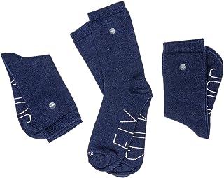SOCKFIX, Calcetines escolares cortos con botón (pack 3 pares)