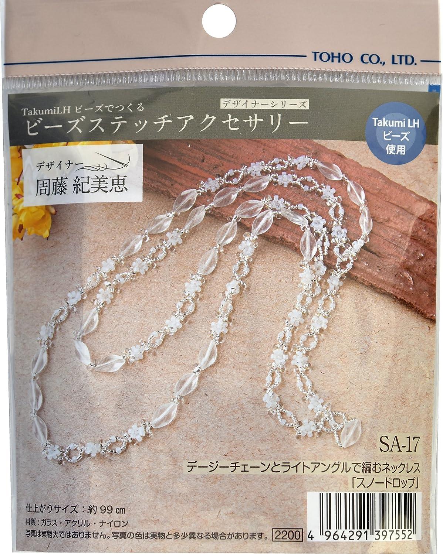 TOHO Perlen Perlen Perlen Set Perlen naehen Zubehoer Schnee Drop Halskette SA-17 B00Y7QZT40 | Ausgewählte Materialien  430ace