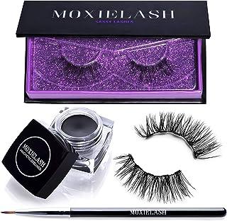 894626a35cc MoxieLash Sassy Bundle - MoxieLash Magnetic Gel Eyeliner for Magnetic  Eyelashes - No Glue & Mess