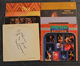 8 different poco lps: cantamos, legend, from the inside, rose of cimerron, deliverlin, inamorata, crazy eyes, a good feelin to know