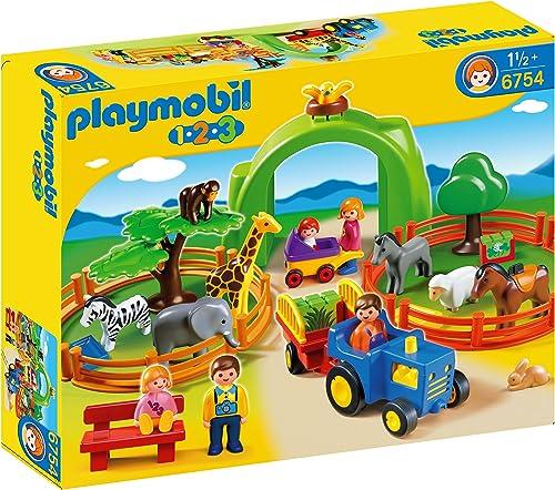 contador genuino Playmobil Playmobil Playmobil 1.2.3 - Mi Primer Zoo (6754)  solo cómpralo