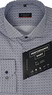 eterna, Super Stretch Performance Long-Sleeved Shirt, Modern Fit