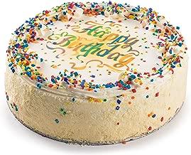 David's Cookies Vanilla Birthday Cake, 7 Inch