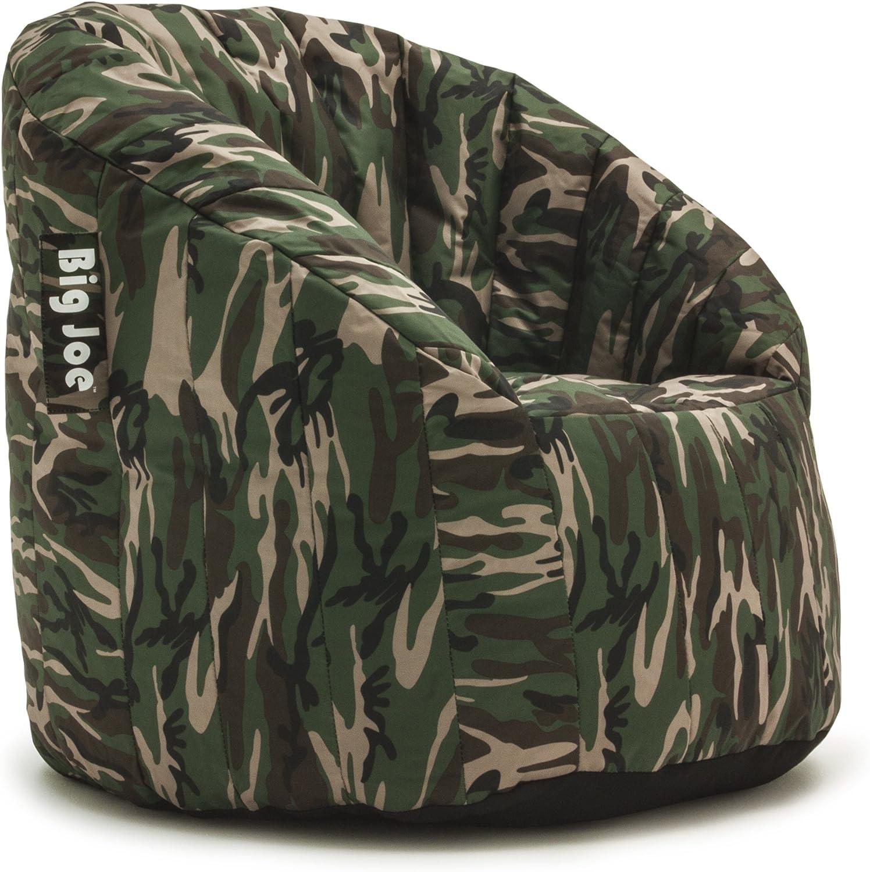 Big Joe Lumin SmartMax Fabric Chair, Woodland Camo