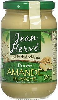 Jean Hervé - Purée d'Amande Blanche - Biologique - Format 350 g