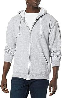 Jerzees Men's Fleece Full-Zip Hooded Sweatshirt Hooded Sweatshirt (pack of 1)
