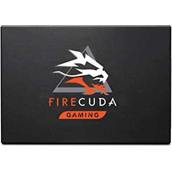Seagate FireCuda 120 SSD 2TB Internal Solid State Drive – SATA 6Gb/s 3D TLC for Gaming PC Laptop (ZA2000GM10001)
