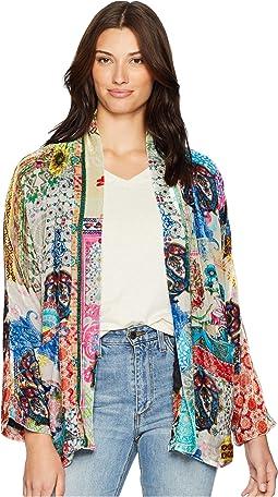 Gigi Velvet Lined Kimono