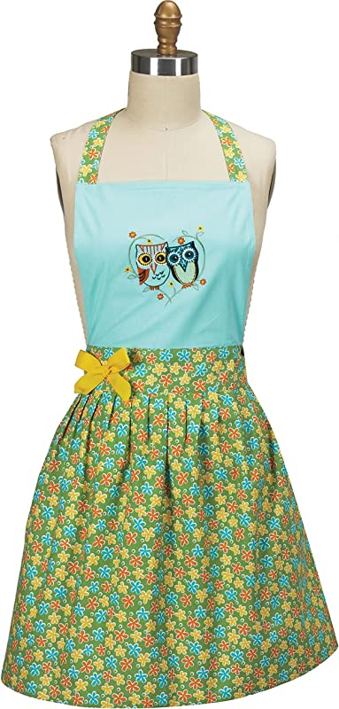 Kay Dee Designs Life S A Hoot Owl Embroidered Girlie Apron