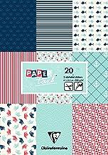 Clairefontaine Bloc de Papel, A4, 20Hojas–diseño, Azul Marino
