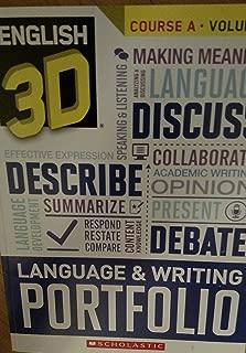 English 3D Language & Writing Portfolio Course A Volume 2