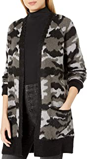 Lucky Brand Women's Camo Cardigan Sweater