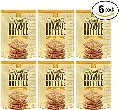 Brownie Brittle Blondie Meyer Lemon, 5 oz Bag (Pack of 6)