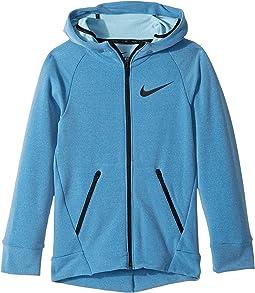 Nike Kids - Dry Full-Zip Training Hoodie (Little Kids/Big Kids)