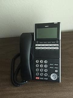 NEC DTL-12D-1 (BK) - DT330 - 12 Button Display Digital Phone Black Stock# 680002 (Renewed)