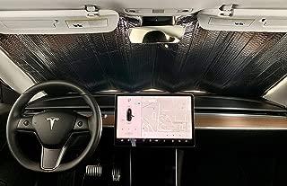 SolarShade Tesla Model 3 Windshield Sunshade Custom Fit for Model 3 Only | 2018-2019