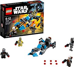 LEGO Star Wars - Pack De Batalla Speeder Bike De Bounty, Juguete de Construcción con Vehículo Espacial de la Guerra de las Galaxias (75167)