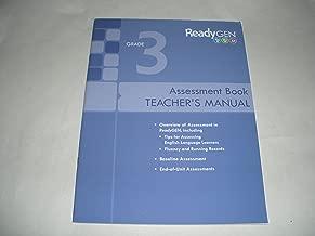 ReadyGen Grade 3 Assessment Book Teacher's Manual