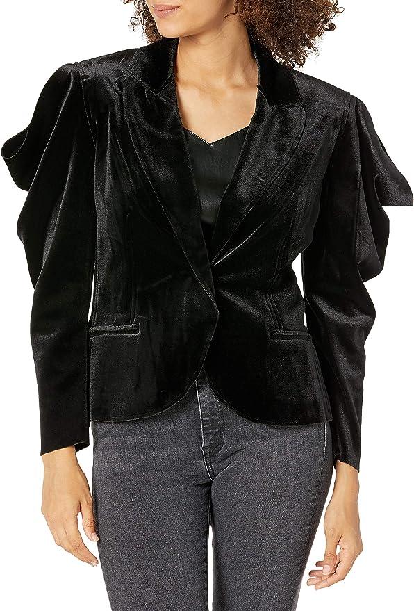 Steampunk Jacket   Steampunk Coat, Overcoat, Cape Norma Kamali Womens Blazer  AT vintagedancer.com