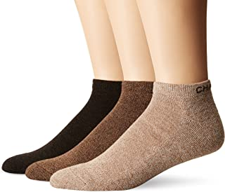 Men's Assorted Marl Low Cut Casual Socks (3 Pack)