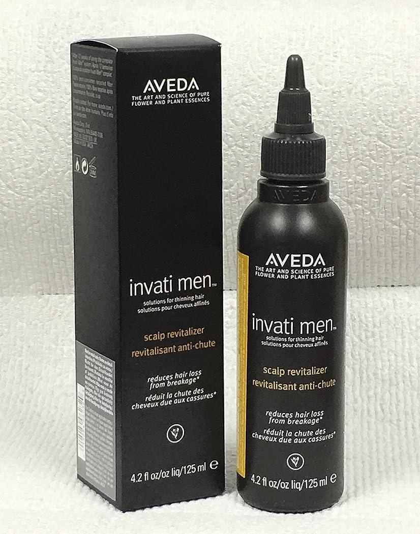 視聴者チーズ必需品アヴェダ Invati Men Scalp Revitalizer (For Thinning Hair) 125ml/4.2oz並行輸入品
