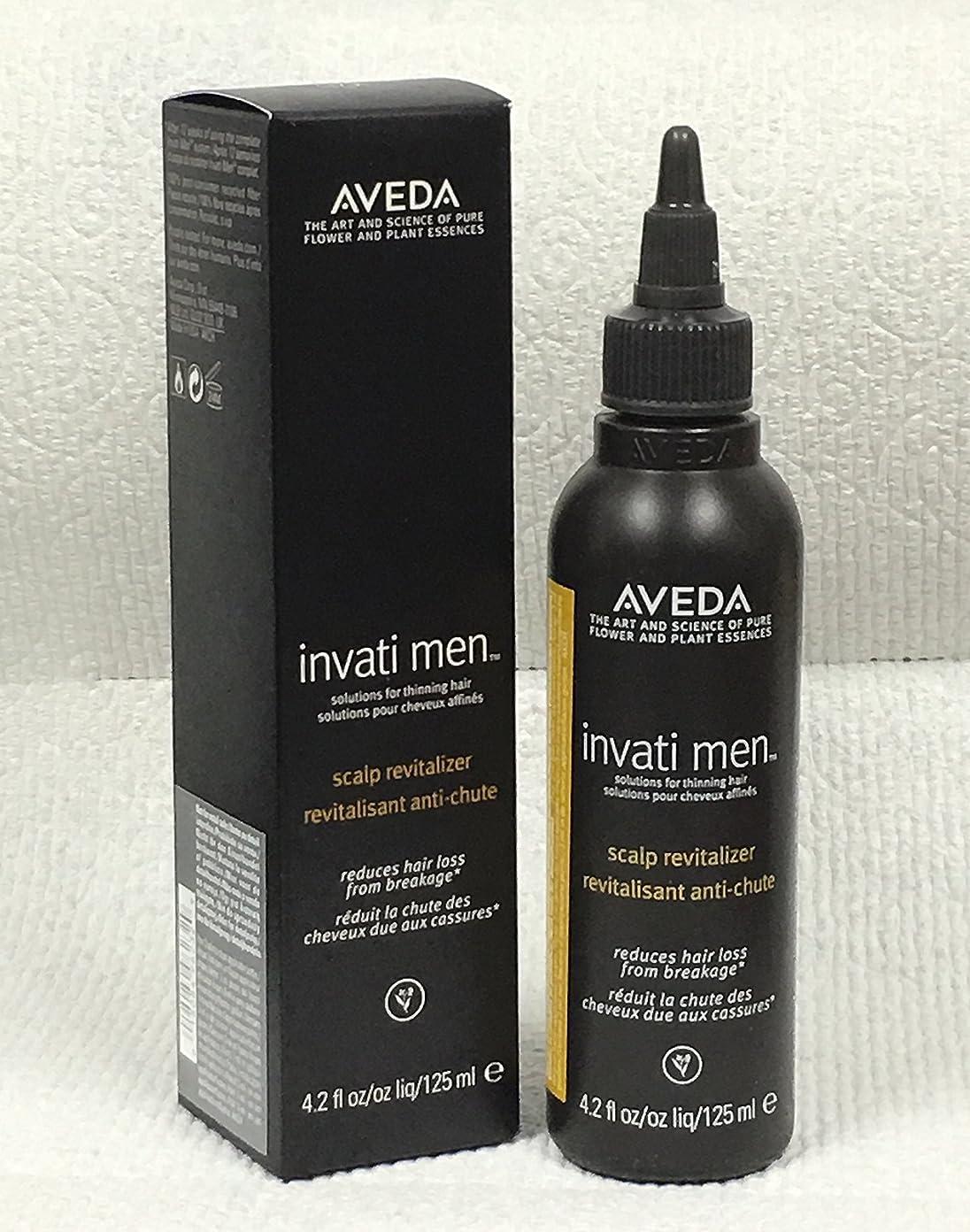 予想外リング農学アヴェダ Invati Men Scalp Revitalizer (For Thinning Hair) 125ml/4.2oz並行輸入品