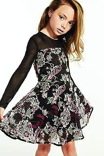 Bardot A Line Dress For Girls - Black, Size 14 US