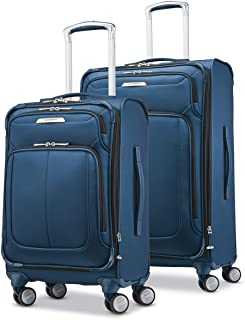 Solyte DLX Softside Expandable Luggage with Spinner...
