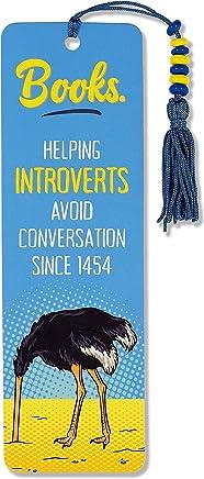 Introvert Beaded Bookmark
