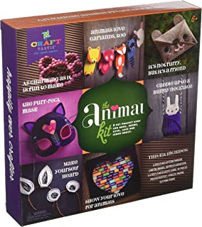 Craft-tastic – The Animal Kit – Craft Kit Makes 7 Animal-Themed Projects