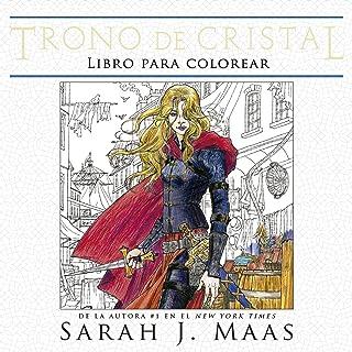 Trono de cristal. Libro para colorear