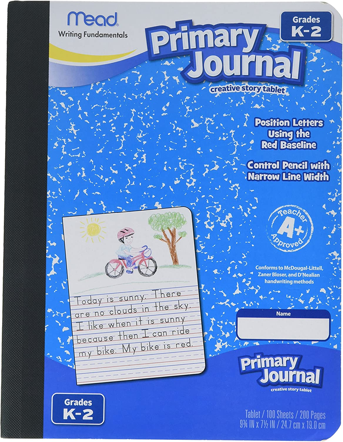 5 Pack Of Mead Free shipping anywhere in the nation MEA09956 Max 51% OFF Journal Primary Grade K-2nd