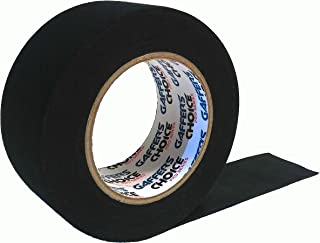 Gaffers Tape 2 inch x 35 Yard Black by GAFFER'S CHOICE - Bonus 5 Yards - Adhesive is Safer Than Duct Tape - Waterproof & Non-Reflective Multipurpose Gaffer Tape
