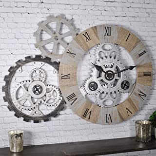 FirsTime & Co. Gear Collection Wall Clock, 32