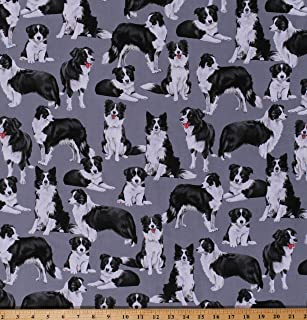 Best border collie fabric by the yard Reviews
