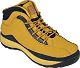 MENS HONEY SAFETY TRAINERS SHOES BOOTS WORK STEEL TOE CAP HIKER ANKLE 6UK - 13UK