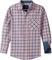 Toobydoo - Stylin! Check Flannel Shirt (Infant/Toddler/Little Kids/Big Kids)