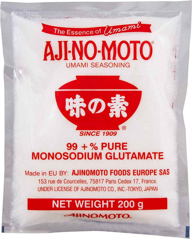 Ajinomoto - Acondicionador a base de glutamato monosódico - 200 gr - [Pack de 12]