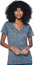 Under Armour Tech T-shirt met korte mouwen V - Twist, dames gemaakt van 4-Way Stretch Stof, ultralicht & Ademend Running K...
